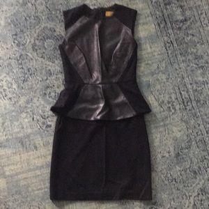 Nicole Miller black dress